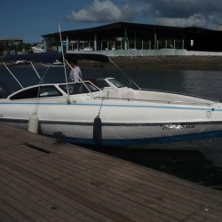 Our speedboat Trip